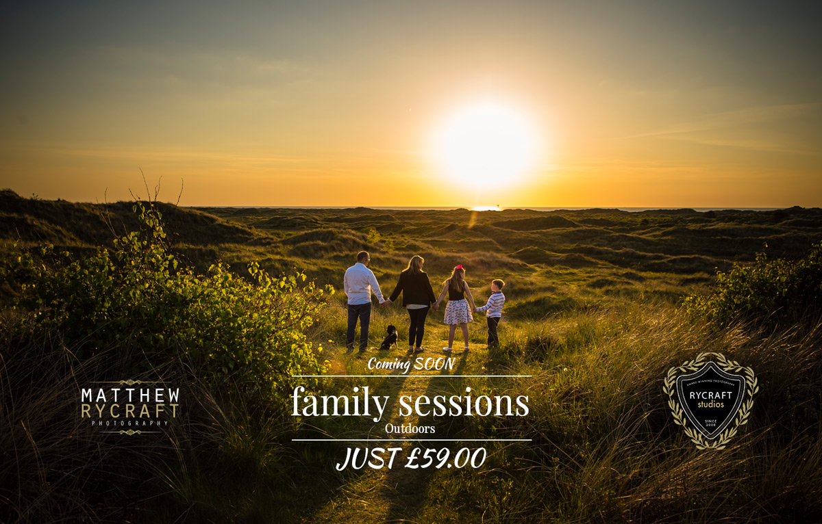 Special Offer Family Portrait Photography £59