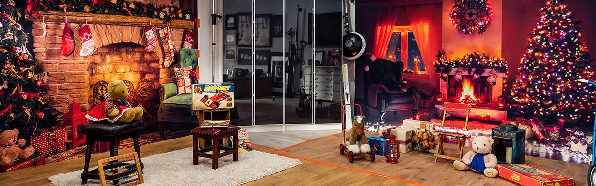 Christmas Studio Setup Rycraft Studios