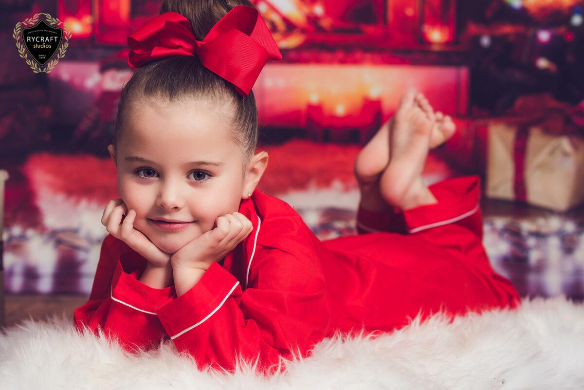Christmas Themed Photoshoot