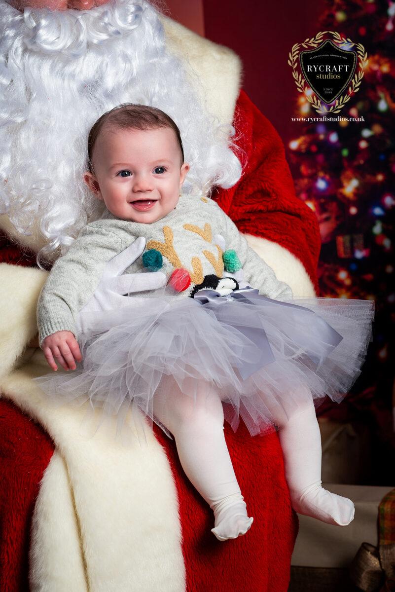 Baby Santa Photograph